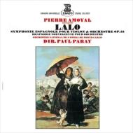 スペイン交響曲、ノルウェー狂詩曲 ピエール・アモイヤル、ポール・パレー&モンテカルロ国立歌劇場管弦楽団