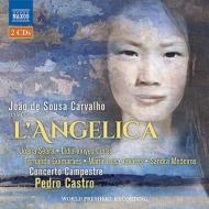 『アンゲリカ』 ペドロ・カストロ&コンセルト・カンペストレ、セアラ、グィマランエス、他(2CD)