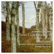 Piano Concerto No.1, Ballades : Paul Lewis(P)Harding / Swedish Radio Symphony Orchestra