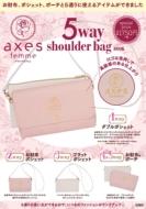 axes femme 5way shoulder bag BOOK