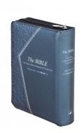 ジッパー・サムインデックスつき聖書 Ni55dczti 銀