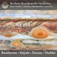 ハイドン:交響曲第88番、マーラー:さすらう若者の歌、デッサウ:ブレヒトの記念に、他 マズア&シュターツカペレ・ベルリン、ブルマイスター