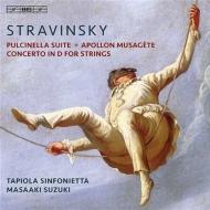 『プルチネッラ』組曲、ミューズをつかさどるアポロ、弦楽のための協奏曲 鈴木雅明&タピオラ・シンフォニエッタ