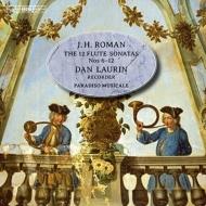 フルートと通奏低音のためのソナタ集第2集 ダン・ラウリン(リコーダー)、パラディソ・ムジカーレ