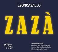 歌劇『ザザ』(1919年版)全曲 マウリツィオ・ベニーニ&BBC交響楽団、エルモネラ・ヤオ(S)他(2015 ステレオ)(2CD)