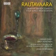 歌曲集『ルバイヤート』、心の光に、カンタータ『バラダ』、他 ストゥールゴールズ&ヘルシンキ・フィル、フィンリー、ヘルシンキ・ミュージック・センター合唱団、他