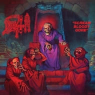 Scream Bloody Gore: Line Art T Shirt (Black)+3xcd Deluxe Bundle (3cd+t-shirt)(Xl Size)