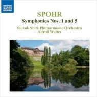 交響曲第1番、第5番 アルフレート・ヴァルター&コシツェ・フィル