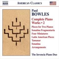ピアノ作品全集第2集 インヴェンシア・ピアノ・デュオ