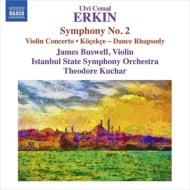 交響曲第2番、舞踏狂詩曲、ヴァイオリン協奏曲 クチャル&イスタンブール国立響、バスウェル
