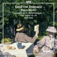 ピアノ作品集〜パッサカリア、4つの狂詩曲、3つの小品 ダニエル・レーム
