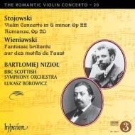 ストヨフスキ:ヴァイオリン協奏曲、ヴィエニャフスキ:ファウスト幻想曲 ニジョウ、ボロヴィツ&BBCスコティッシュ響