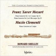 フランツ・クサヴァー・モーツァルト:ピアノ協奏曲第1番、第2番、クレメンティ:ピアノ協奏曲 シェリー、ザンクト・ガレン響