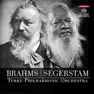 Brahms Symphony No.1, Segerstam Symphony No.288 : Segerstam / Turku Philharmonic (Hybrid)