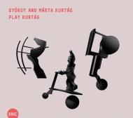ピアノのための小品『遊び』選集(39曲)、4手のための組曲 ジェルジ・クルターグ、マリア・クルターグ