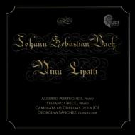 バッハ:2台ピアノのための協奏曲第2番、シャコンヌ(ブゾーニ編)、リパッティ:協奏交響曲、他 ポルトゥゲイス、グレコ、カメラータ・ユース・オーケストラ・デ・レオン