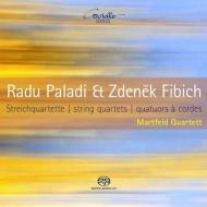 フィビヒ:弦楽四重奏曲第2番、パラディ:弦楽四重奏曲第1番 マルトフェルト四重奏団