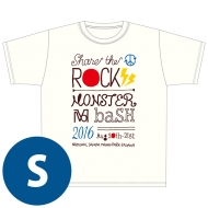 SHARE THE ROCK Tシャツ(白)[S] / MONSTER baSH 2016