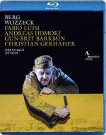 『ヴォツェック』全曲 ホモキ演出、ルイージ&チューリッヒ歌劇場、ゲルハーヘル、バークミン、他(2015 Stereo)(日本語字幕付)
