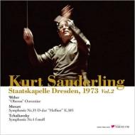 ザンデルリング&ドレスデン、1973年来日公演ライヴ〜チャイコフスキー:交響曲第4番、モーツァルト:交響曲第35番、他(2LP)