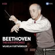 交響曲全集 ヴィルヘルム・フルトヴェングラー&ウィーン・フィル、バイロイト祝祭管弦楽団、ストックホルム・フィル(5CD)