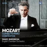 ピアノ協奏曲全集 ダニエル・バレンボイム&イギリス室内管弦楽団(10CD)