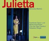 歌劇『ジュリエッタ』全曲 ヴァイグレ&フランクフルト歌劇場、ストレイト、ラスカーロ、他(2014 ステレオ)(2CD)