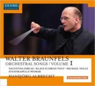 管弦楽伴奏歌曲集第1集 ファルカス、フローリアン・フォークト、ヴォッレ、ハンスイェルク・アルブレヒト&シュターツカペレ・ヴァイマール