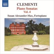 初期ピアノ・ソナタ集第4集 アレクサンダー=マックス(フォルテピアノ)