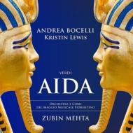 『アイーダ』全曲 ズービン・メータ&フィレンツェ五月祭、アンドレア・ボチェッリ、クリスティン・ルイス、他(2015 ステレオ)(2CD)