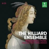 『ルネサンス音楽集〜イギリス、イタリア、スペイン、メキシコ編』 ヒリヤード・アンサンブル(6CD)