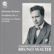Symphony No.4, Haydn Variations : Bruno Walter / Columbia Symphony Orchestra -Transfers & Production: Naoya Hirabayashi
