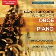 『オーボエとピアノのための作品集〜ナポレオン・コスト、クローゼ、ヴェルー』 エンリコ・カルカーニ、ソニア・バッラリン