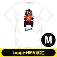 【2回目】復興支援Tシャツ 埼玉西武ライオンズ(M)【Loppi・HMV限定】/ くまモン×パ・リーグ