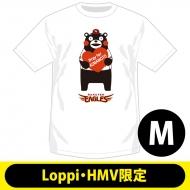 【2回目】復興支援Tシャツ 東北楽天ゴールデンイーグルス(M)【Loppi・HMV限定】/ くまモン×パ・リーグ