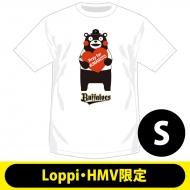 【2回目】復興支援Tシャツ オリックス・バファローズ(S)【Loppi・HMV限定】/ くまモン×パ・リーグ