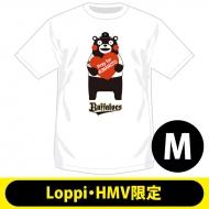 【2回目】復興支援Tシャツ オリックス・バファローズ(M)【Loppi・HMV限定】/ くまモン×パ・リーグ