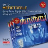 『メフィストーフェレ』全曲 ムーティ&スカラ座、サミュエル・レイミー、ヴィンチェンツォ・ラ・スコーラ、他(1995 ステレオ)(2CD)