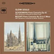 Schoenberg Piano Concerto, Mozart Piano Concerto No.24 : Glenn Gould(P)R.Craft / Susskind/ CBC Symphony Orchestra