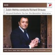 Orchestral Works, Salome : Zubin Mehta / Bselin Philharmonic, +Don Juan : LAPO, Zarathustra: NYP (8CD)