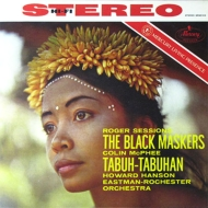 セッションズ:黒い仮面をかぶった人々、マクフィー:タブー・タブハン ハワード・ハンソン&イーストマン・ロチェスター交響楽団(180グラム重量盤)