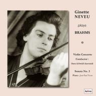 Violin Concerto, Violin Sonata No.3 : Neveu(Vn)Schmidt-Isserstedt / NDR Symphony Orchestra, J-P.Neveu(P)(2LP)