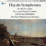交響曲第104番『ロンドン』、第88番『V字』 オットー・クレンペラー&ニュー・フィルハーモニア管弦楽団