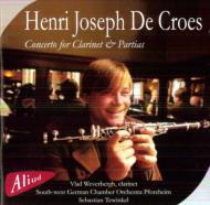 Clarinet Concerto: Weverbergh(Cl)Tewinkel / Pforzheim Swd Co +partitas