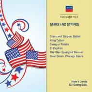 『星条旗よ永遠なれ』『がんばれ、シカゴ・ベアーズ!』 ゲオルグ・ショルティ&シカゴ交響楽団、バレエ音楽『星条旗』 ヘンリー・ルイス&ナショナル・フィル、他