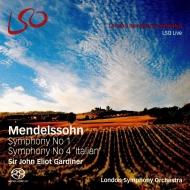 交響曲第4番『イタリア』(改訂版)、第1番(1829年版第3楽章を含む) ジョン・エリオット・ガーディナー&ロンドン交響楽団(+ブルーレイ・オーディオ)
