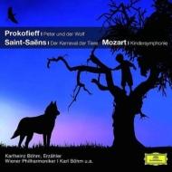 Peter & Wolf / Le Carnaval Des Animaux: Bohm / Vpo Karlheinz Bohm(Narr)+l.mozart