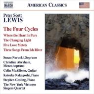 4つの歌曲集 ニューヨーク・ヴィルトゥオーゾ・シンガーズ・クァルテット、クリスティーネ・アブラハム、中越啓介、他