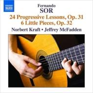 24の練習曲『進歩的なレッスン』、6つの小品 ノーバート・クラフト、ジェフリー・マックファーデン
