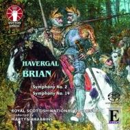 Sym, 2, 14, : Brabbins / Royal Scottish National O Hindley(Organ)